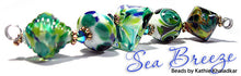 Load image into Gallery viewer, Sea Breeze frit blend by Glass Diversions - beads by Kathie Khaladkar