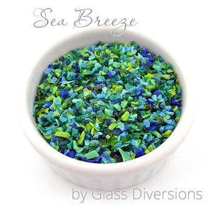Sea Breeze frit blend by Glass Diversions
