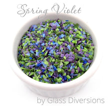 Load image into Gallery viewer, Spring Violet frit blend by Glass Diversions