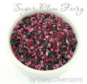 Sugar Plum Fairy frit blend by Glass Diversions