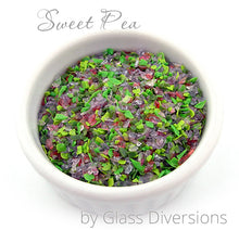 Load image into Gallery viewer, Sweet Pea frit blend by Glass Diversions