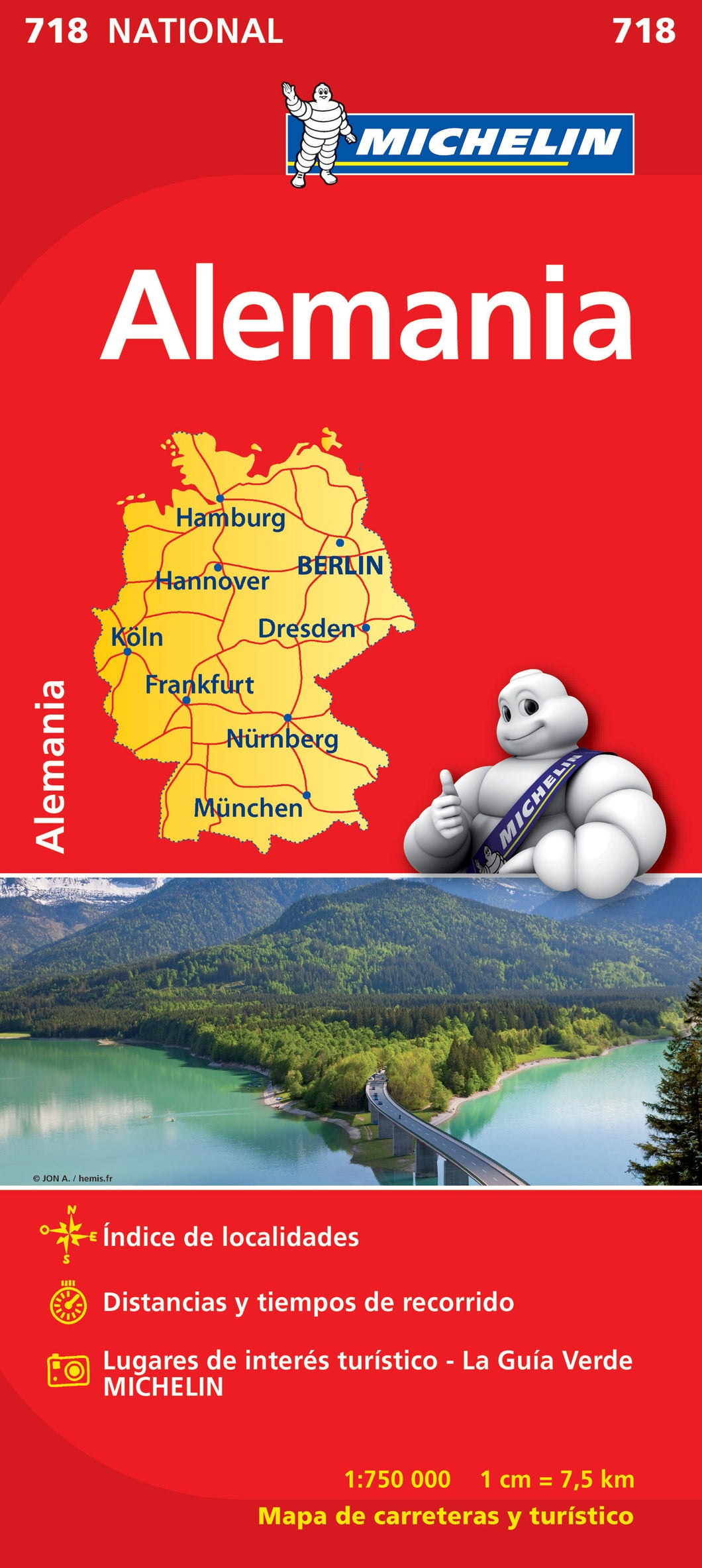 Desplegable Alemania