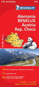Desplegable BENELUX, Alemania, Austria, Rep Checa