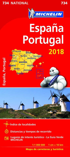 Desplegable España y Portugal