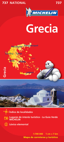 Desplegable Grecia