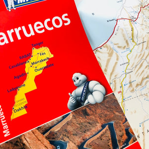 Desplegable Marruecos