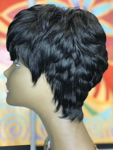 """Erika"" Short and Sassy Wig Unit"