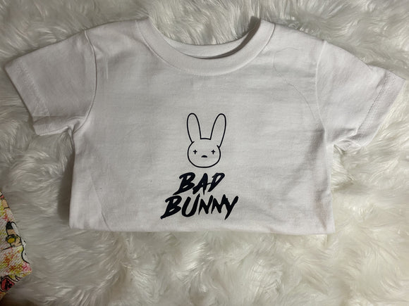 Bad Bunny T Shirt/Onesie Choose Your Shirt Color