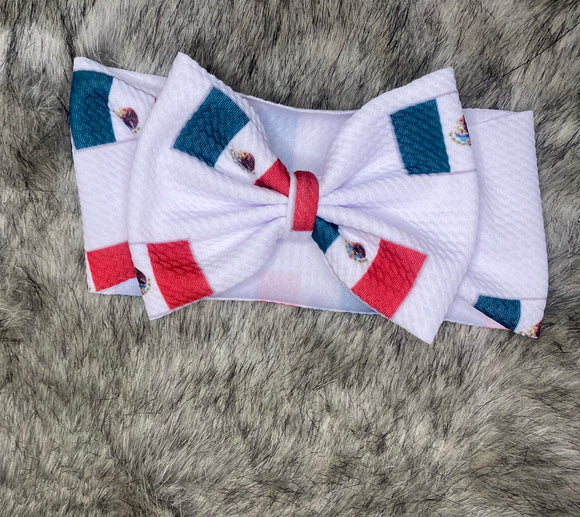 Viva Mexico Bow (Textured)