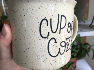 [IMPERFECT] Cup of Cozy Camp Mug