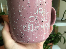 Load image into Gallery viewer, [IMPERFECT] You Are Enough Pink Camp Mug