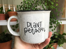 Load image into Gallery viewer, [IMPERFECT] Plant Person Camp Mug