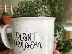 [IMPERFECT] Plant Person Camp Mug
