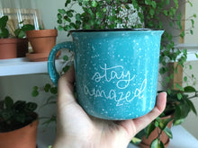 Load image into Gallery viewer, [IMPERFECT] Stay Amazed Camp Mug