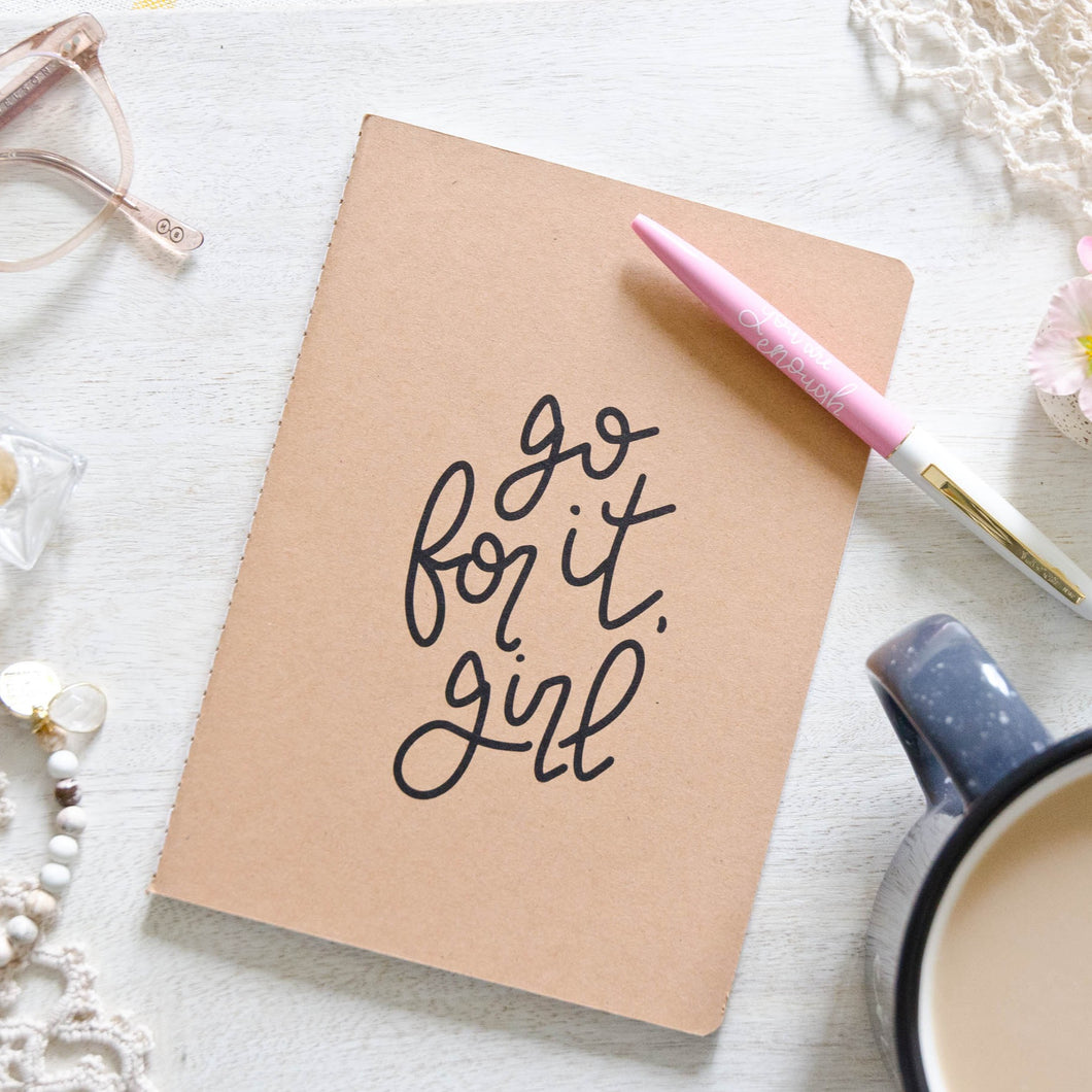 Go for it Girl Notebook