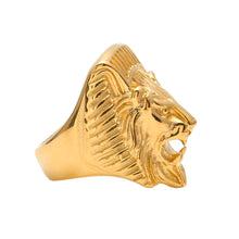 Load image into Gallery viewer, Gold Lion ring - Frosty Jewelz