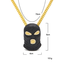 Load image into Gallery viewer, (Balaclava) Mask Head Pendant - Frosty Jewelz