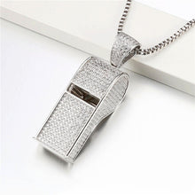 Load image into Gallery viewer, Whistle Necklace Pendants - Frosty Jewelz