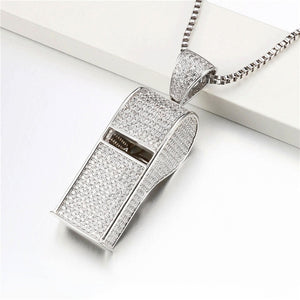 Whistle Necklace Pendants - Frosty Jewelz