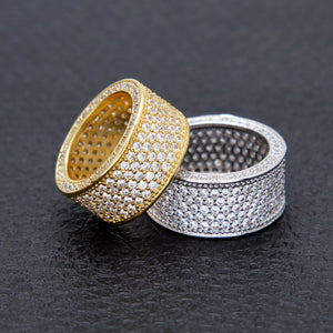 Iced out Band Rings - Frosty Jewelz