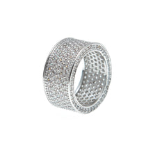 Load image into Gallery viewer, Iced out Band Rings - Frosty Jewelz