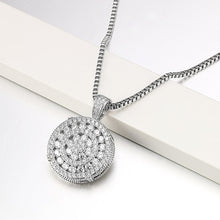 Load image into Gallery viewer, Round Frosty Pendants - Frosty Jewelz