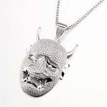 Load image into Gallery viewer, Monster Mask Pendant - Frosty Jewelz