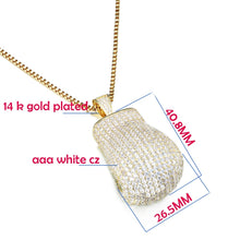 Load image into Gallery viewer, Boxing Glove Pendants - Frosty Jewelz