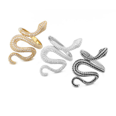 Snake Rings - Frosty Jewelz