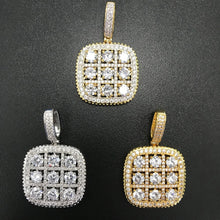 Load image into Gallery viewer, Luxury Square Medallion Pendant - Frosty Jewelz