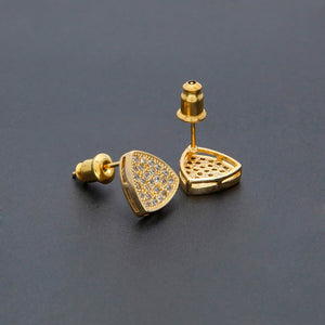 Triangle Stud Earrings - Frosty Jewelz
