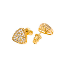 Load image into Gallery viewer, Triangle Stud Earrings - Frosty Jewelz