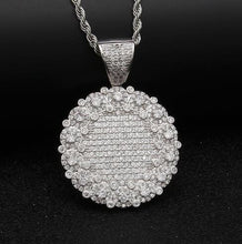 Load image into Gallery viewer, Round Medallion Pendant - Frosty Jewelz