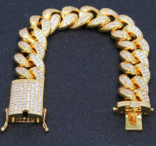 Load image into Gallery viewer, Iced Out Miami Cuban Bracelet - Frosty Jewelz
