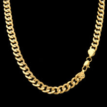 Load image into Gallery viewer, 9mm Gold Cuban Curb Chain - Frosty Jewelz