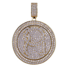 Load image into Gallery viewer, QC Spinner Pendant Necklace - Frosty Jewelz