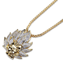 Load image into Gallery viewer, Dragon Ball Character Super Saiyan Pendant Necklace - Frosty Jewelz