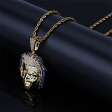 Load image into Gallery viewer, XXXTentacion Pendant Necklace - Frosty Jewelz