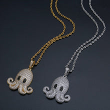 Load image into Gallery viewer, Octopus Pendant Necklace - Frosty Jewelz