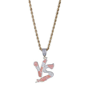 VS Pendant Iced Out - Frosty Jewelz