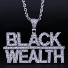 Load image into Gallery viewer, Black Wealth Necklace