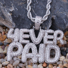 Load image into Gallery viewer, 4 Ever Paid Full Iced Out Pendant - Frosty Jewelz