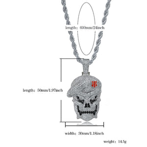 Black Ops Pendant Necklace - Frosty Jewelz