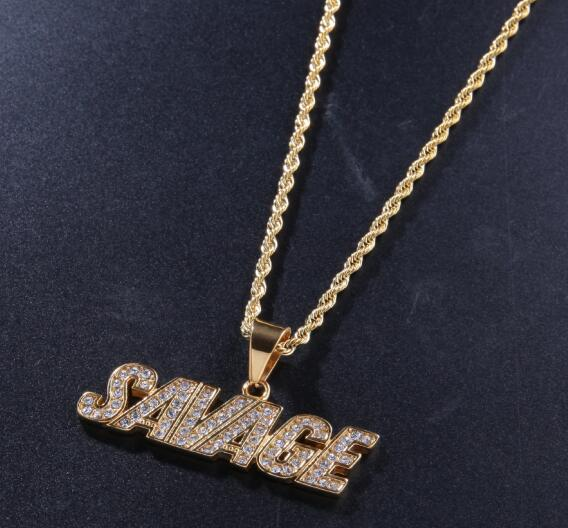 Savage Pendant - Frosty Jewelz