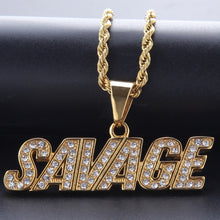 Load image into Gallery viewer, Savage Pendant - Frosty Jewelz