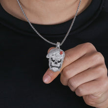 Load image into Gallery viewer, Black Ops Pendant Necklace - Frosty Jewelz