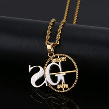 Load image into Gallery viewer, SNIPER Pendant Necklace - Frosty Jewelz