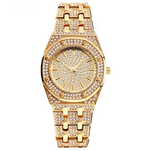 Load image into Gallery viewer, ICED OUT Watch Gold - Frosty Jewelz