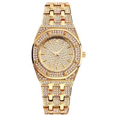 ICED OUT Watch Gold - Frosty Jewelz