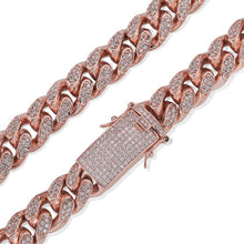 Load image into Gallery viewer, 14mm Iced Out Cuban Chain - Frosty Jewelz